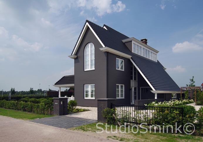 Ontwerp villa te Utrecht.